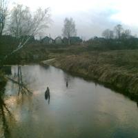 Вид с мостика через Кезу
