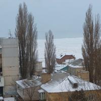 Каспийское море замерзло