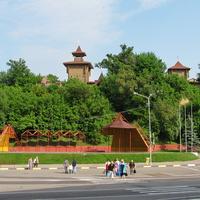 Вид на Замковую гору