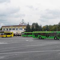 Автобусы городу в подарок (празднование Дня города в 2010г.)