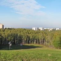 """Горнолыжный комплекс """"Мозырь"""" летом"""