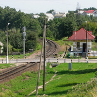 Переезд, станция Мозырь