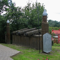 На территории Мозырского замка
