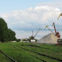 Речной порт Мозырь, подъездные пути ст. Пхов