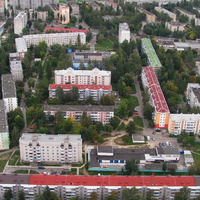 Дома в районе улиц Нефтестроителей и Притыцкого