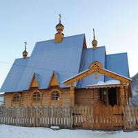 Востановленная церковь в Мыюте.