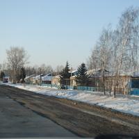 Одна из улиц Прокудского.