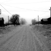 Фёдоровка. Чёрно - белая зима.
