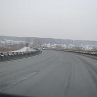 Плотниково при въезде из Кузбаса.