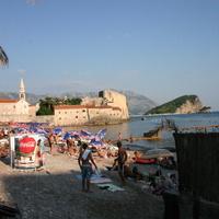 Пляж и старый город