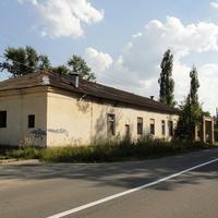 Бывшие здания воинской части
