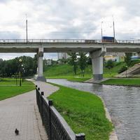 Мост через р. Дубровенка по проспекту Мира