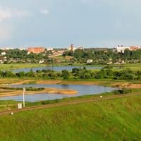 Вид с Днепровского бульвара