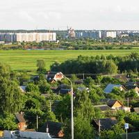 Вид на город с Днепровского бульвара