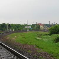 Вид в сторону ст. Могилев 2