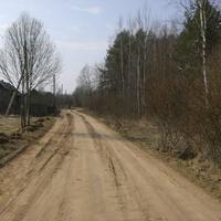 Дорога в сторону д.Гараж