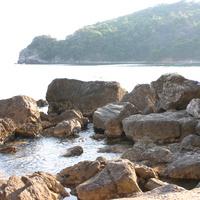 Камни около берега