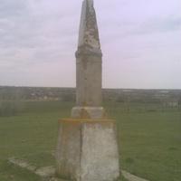 Памятник полковнику,пану Курту.Основателю с. Куртовка,ныне Новоукраинка