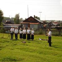 Гости посёлка