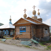 Временная и новая церковь. Июль 2012 г.