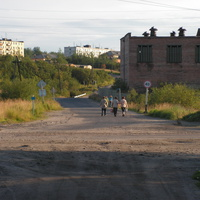 Шонгуй, дорога у кирпичного завода
