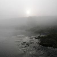 Туман у переправы