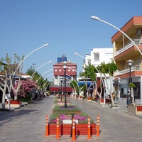 Белек - торговая улица (на 2011г)