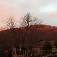 Вид на гору Лысую с Охотничьего хутора 2012