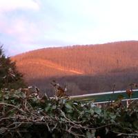 На закате солнца в конце марта 2012