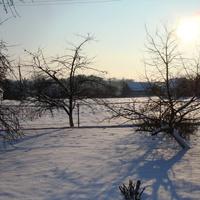 Солнечная зима 2011 (вид с ул. Вокзальная 1)