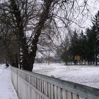 Стадион в школе