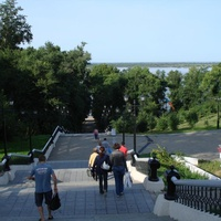 Набережная Хабаровска. Парк Муравьева-Амурского
