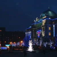Привокзальная площадь перед новым 2011 годом