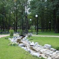 Ручей в парке Маршалково