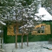 дачка зима