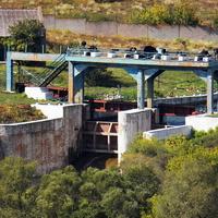 Комплекс плотины Волынцевского водохранилища