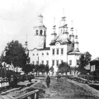 Входоиерусалимская церковь 100 лет назад.