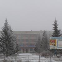 Омский сельскохозяйственный техникум зимой