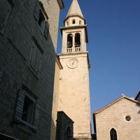 Старый город. Башня с часами.
