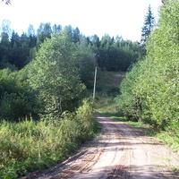 дорога Быльчино-Сосницы, 4 км