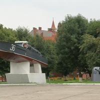 Памятник - катер