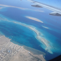 Заход на посадку Харгада