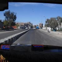 Safaga City  (из окна маршрутного такси)