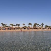 Вид на пляж  (Отель Солимар Парадайз Сафага)
