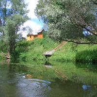 река протва, недалеко от лав против течения (д.Залучное)