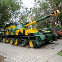 Оренбург. Парк Салют, Победа! Боевые танки.