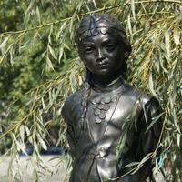 Скульптура - юная башкирка