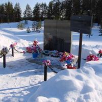 Мемориал на месте прощания с уходившими на фронт д. Сульца