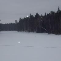 оз. Святое зимой