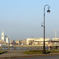 Вид на Петроградскую сторону.